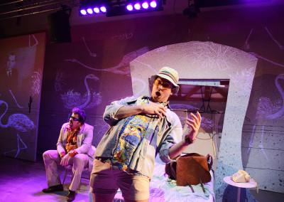 Rob Crouch-Dr Gonzo  Ed Hughes- Raoul Duke
