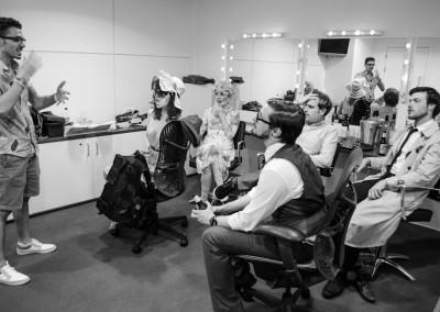 Backstage at London 2012 | Brazil