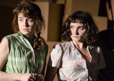 Georgia Clarke-Day and Ruby Bentall