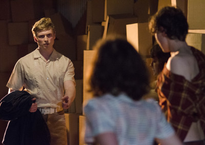 Christopher Webster, Ruby Bentall and George Mackay